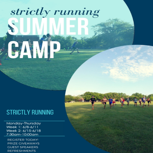 Cross Country Training Day Camp Week 2